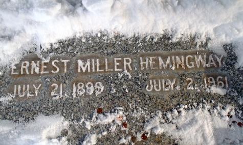 Hemingway's Grave.
