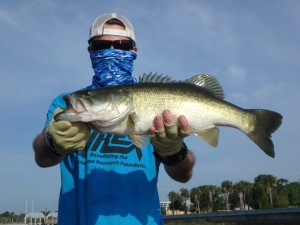 This fish, my personal best ever, saved the day thanks to Steve Niemoeller.