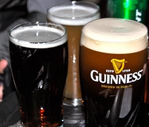 My last beer.