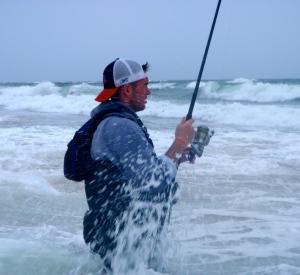 Fishing Montauk's coast during the Fall Run.